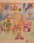 Nopon...Nopon Everywhere by Artistic-Alice
