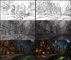 Making of 'Crazy Town Part 2' by Bezduch
