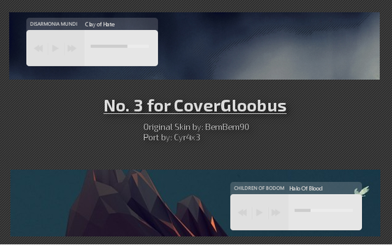 No. 3 for CoverGloobus by Cyr4x3
