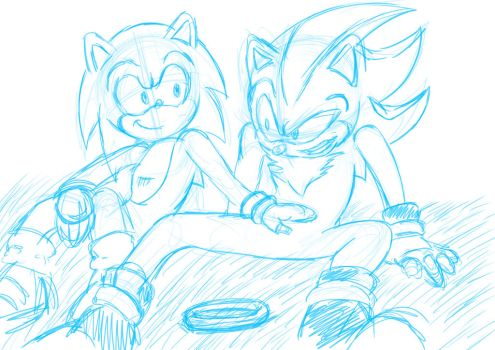 Out In The Open Pencils by zeldalegends4525