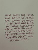 What Hurts The Most by howcouldyoudothat
