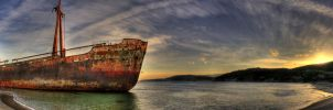 the shipwreck I by fokalexandris