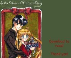 Sailor Moon Christmas doujinshi by 0Febris0