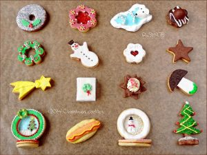 Christmas cookies by PaSt1978
