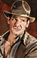 Indiana Jones by MrMasenko