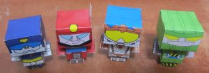 Rescue Bots CUBEE by aim11