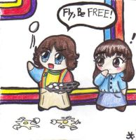 Mork and Mindy by BrerBunny13