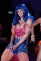Katy Perry Muscle Growth by WIZZLE11