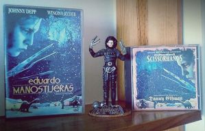 Edward Scissorhands Collection. by Shadow-of-Nemo