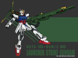 Launcher Strike Gundam by StrikeGATX105