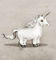 unicorn by berkozturk