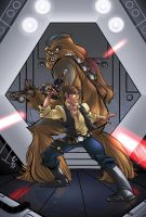 Han And Chewy Colors by BDStevens