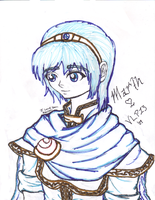 Marthy Marth with sharpies by VLP13