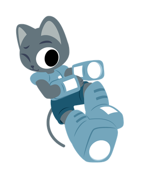 Blaster Cats: Philip by EvanSpritemaker