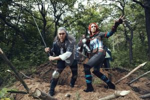 Triss Merigold Geralt z Rivii The Witcher cosplay by Gabardin