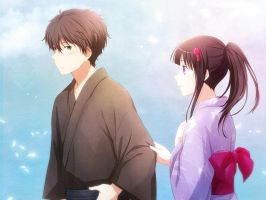 Hyouka - Houtarou and Eru by Arya032