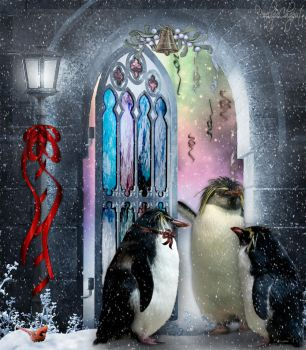 Party With the Penguins by Pennes-from-Heaven