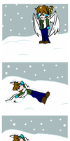 Snow Angel by MightyBiteySnake