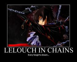 Lelouch Motivational Poster by Bassiroth