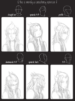 young Master Xehanort sketches by ssceles