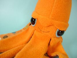 giant squid - close up by sewingstars