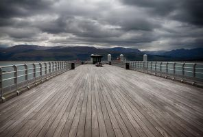 Beaumaris Pier 2 by CharmingPhotography