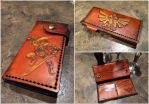 Full Length Leather Zelda Wallet by Skinz-N-Hydez