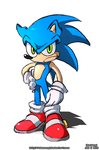 Sonic the Something by ColdSandwich