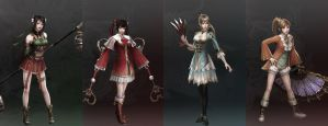 Dynasty Warriors 8 Favourites by gaming123456