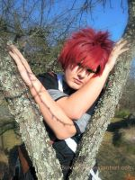 Gaara - Tree by BuruTsuin