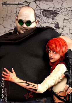RC Book1 Chapter 4: Wong and Lily Poster by AOGRAI