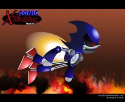 Metal Sonic Xtreme by Doom-Fox
