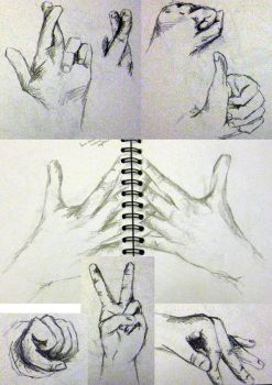 Hands - Sheet 2 by from-yesterday-xx