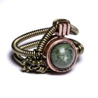 Angel steampunk Ring by CatherinetteRings