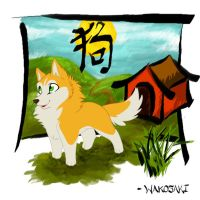 Lil Dog Chinese Zodiac by wakosaki