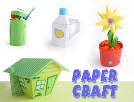paper crafts by Dinuguan