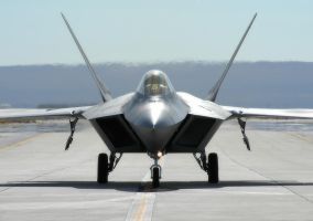 F-22A Raptor Magnet 2 by jdmimages