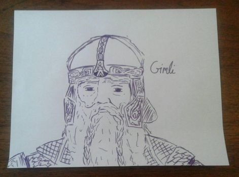 Gimli by Demon-catgirl