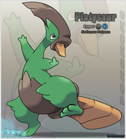 Platysaur by Pokekoks
