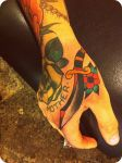 dagger hand by xveganmafiax