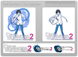 Devil Survivor 2 The Animation Folder Icon by Aven-23