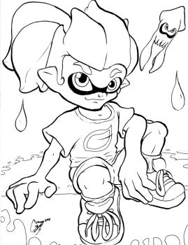 I Wanna Be an Inkling (line) by Connan-Bell