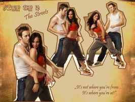 Step Up 2: Andie and Chase by BadTreacle