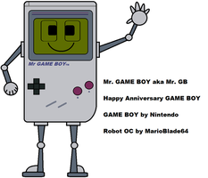 Mr. GAME BOY by MarioBlade64