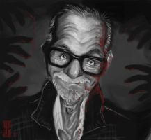 George A. Romero by Parpa