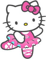 Hello Kitty PNG Ballet by MFSyRCM