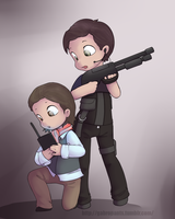 Connor and Becker by DamnItNagron