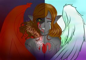 Darkness  and Light by Margaret-Lupin