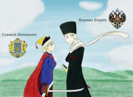 APH -  Russian Empire vs Cossack Hetmanate by TonyCocchi