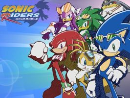 Sonic_Riders_Wallpaper by Puretails